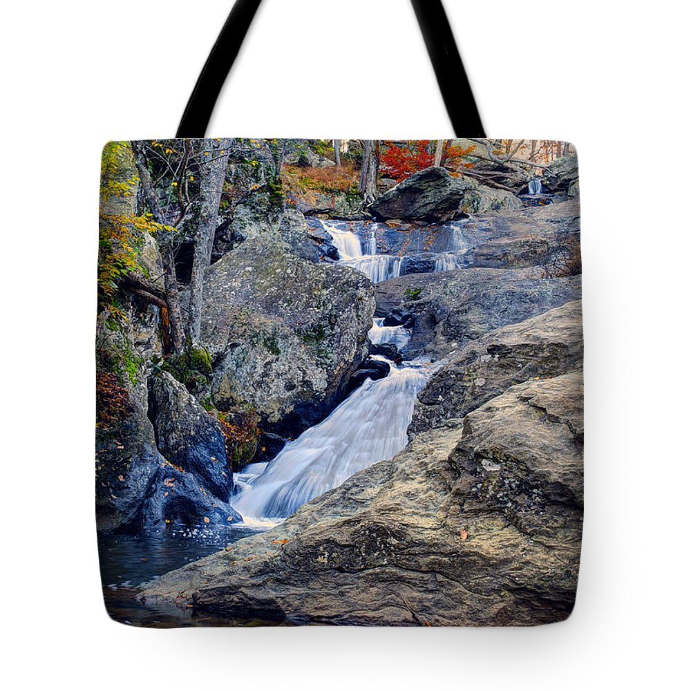 Cunningham Falls Tote Bag featuring the photograph Cunningham Falls by Mark Dodd