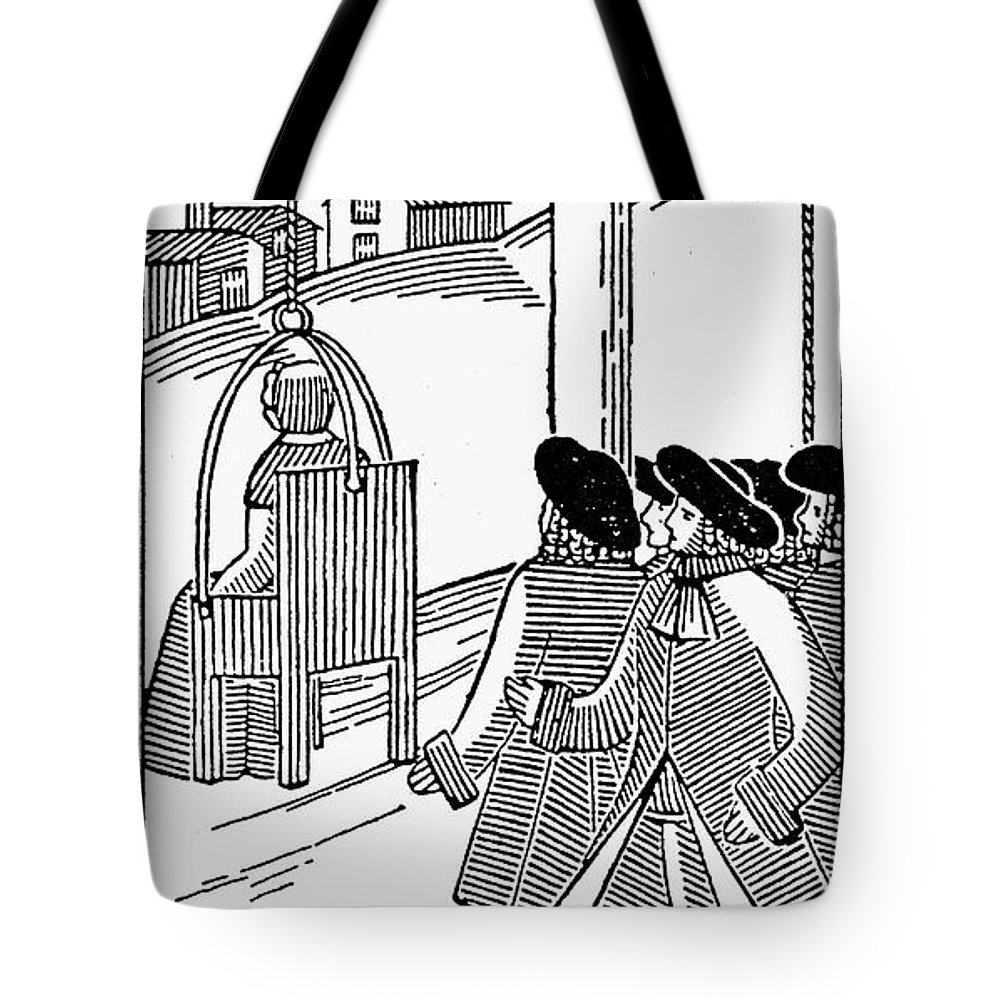 19th Century Tote Bag featuring the photograph Ducking Stool by Granger