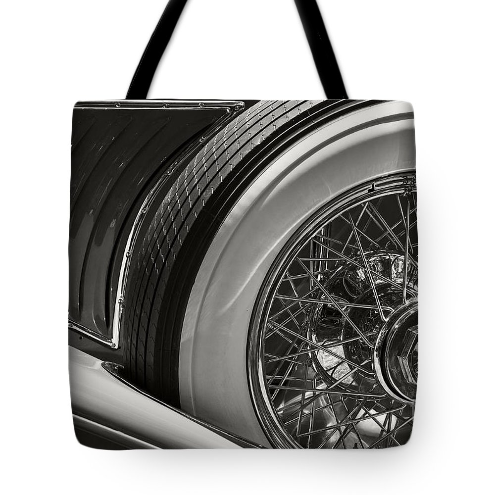 Classic Tote Bag featuring the photograph Duesenberg by Dennis Hedberg