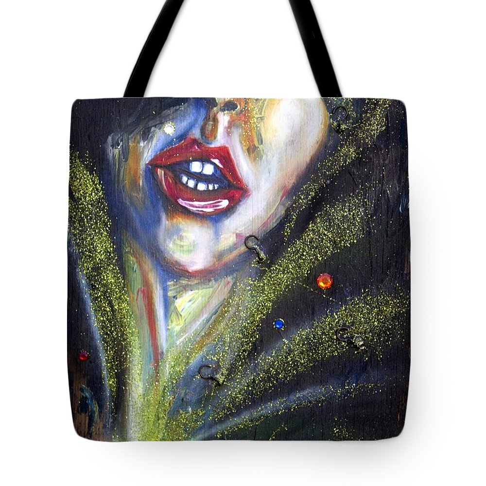 Isis Tote Bag featuring the painting Isis by Sheridan Furrer