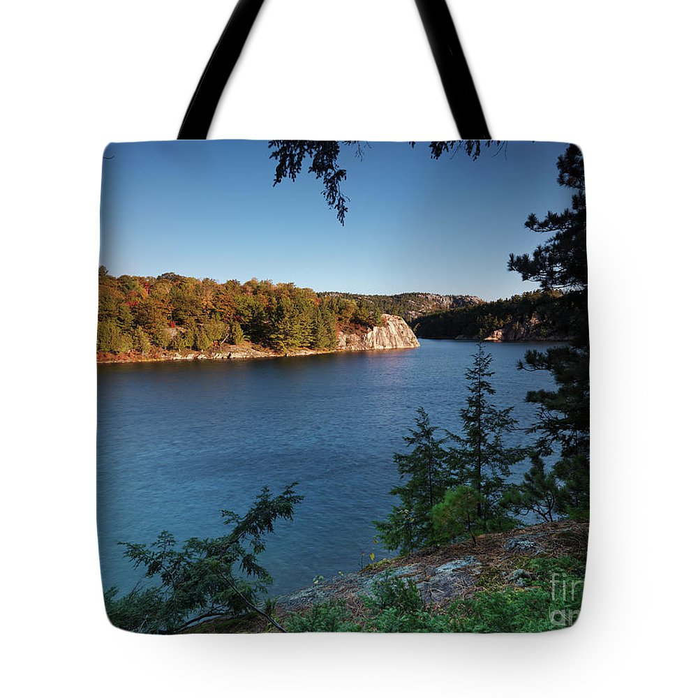 Lake Tote Bag featuring the photograph Killarney Provincial Park by Oleksiy Maksymenko