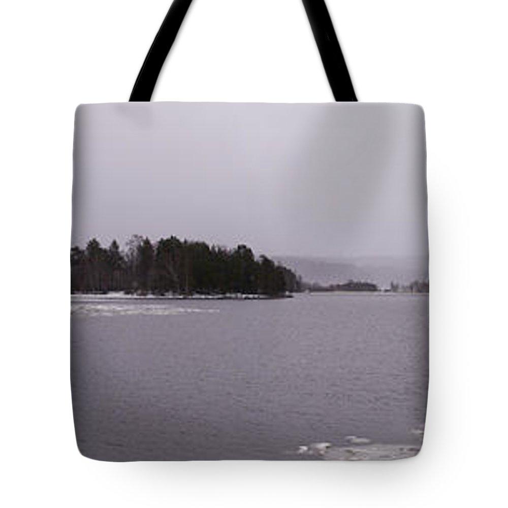 Lehtokukka Tote Bag featuring the photograph Kulovesi April by Jouko Lehto
