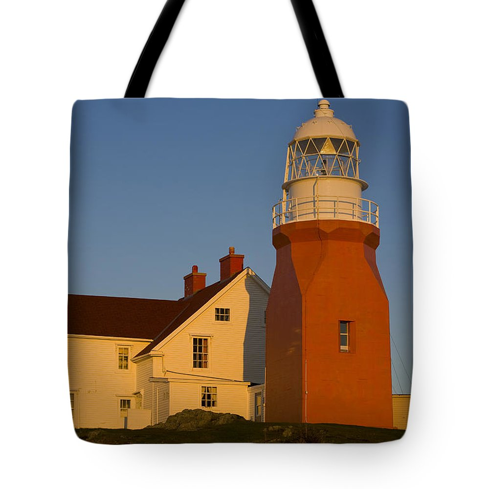 Buildings Tote Bag featuring the photograph Long Point Lighthouse, Twillingate by John Sylvester