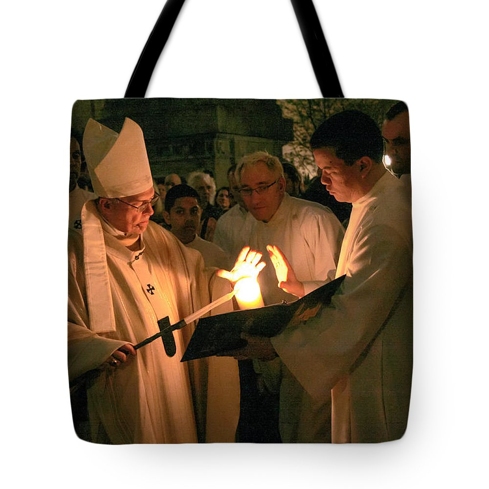 St. James Cathedral Tote Bag featuring the photograph St. James Cathedral by Mike Penney