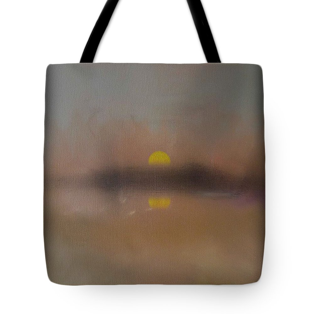 London Tote Bag featuring the painting Sunset by Charles Stuart