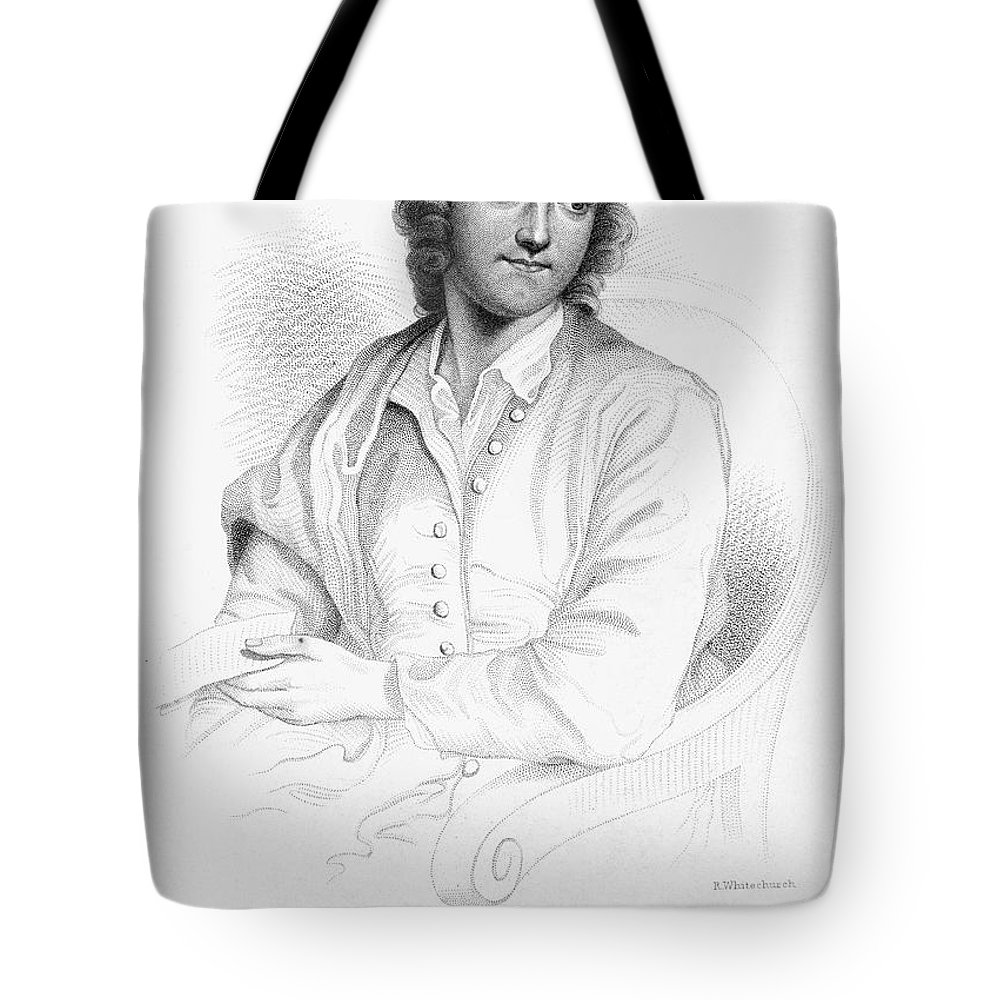 18th Century Tote Bag featuring the photograph Thomas Gray (1716-1771) by Granger