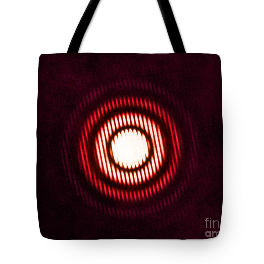 Diffraction Tote Bag featuring the photograph X-ray Diffraction by Omikron