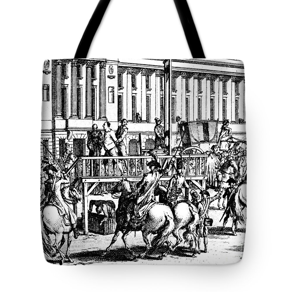 1793 Tote Bag featuring the photograph Louis Xvi (1754-1793) by Granger