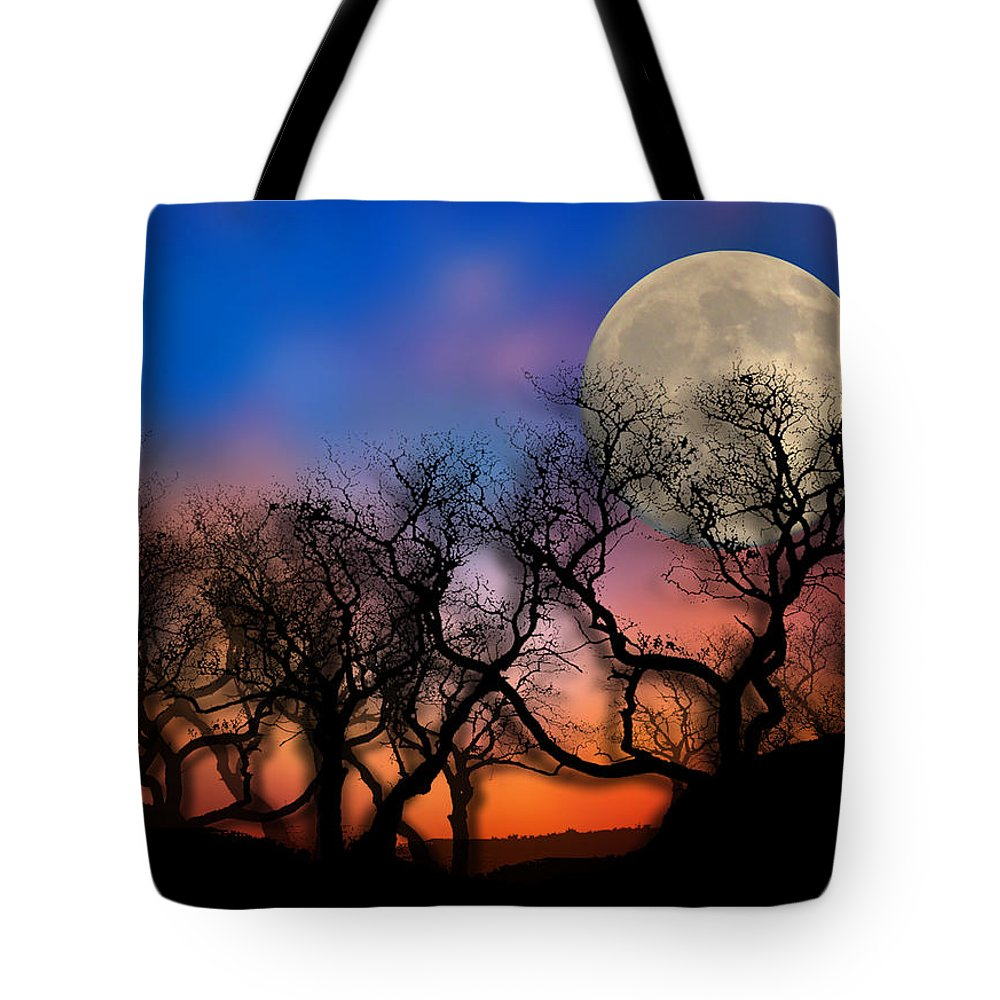 Trees Tote Bag featuring the photograph 2033 by Peter Holme III