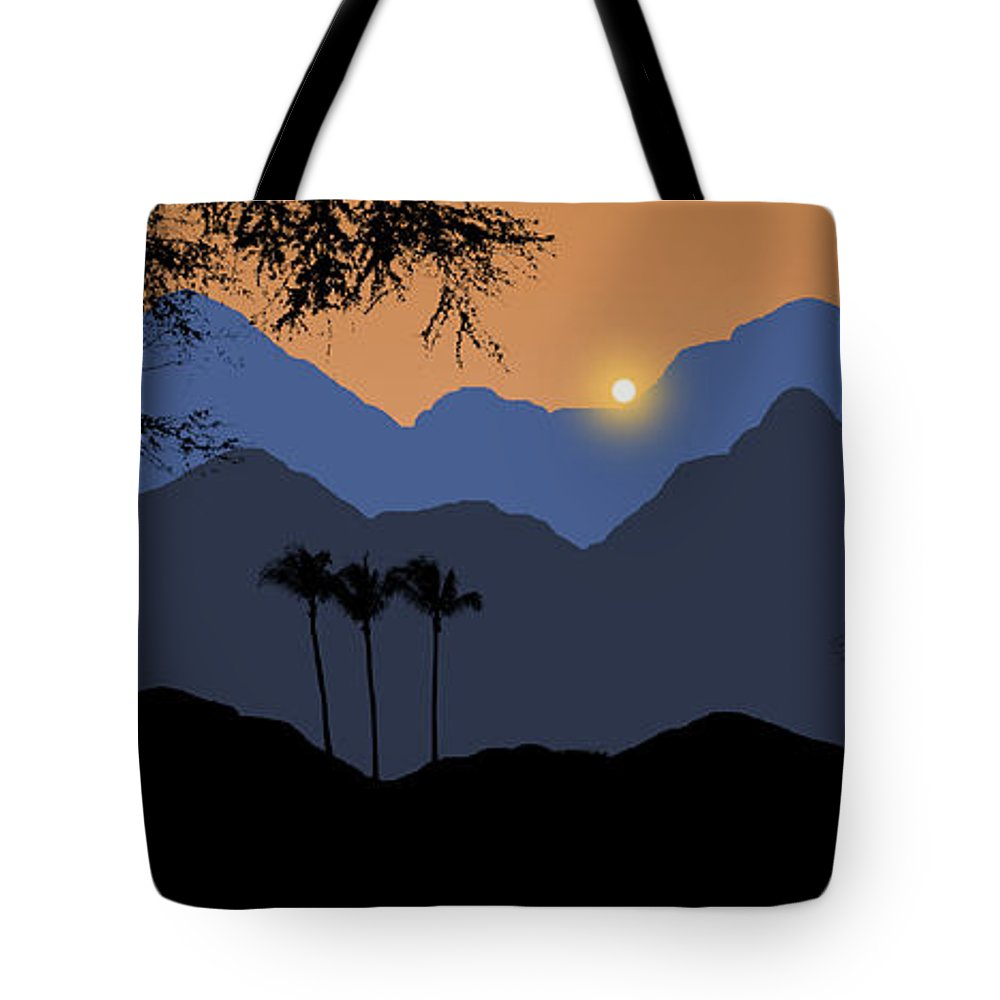 Mountains Tote Bag featuring the photograph 2034 by Peter Holme III