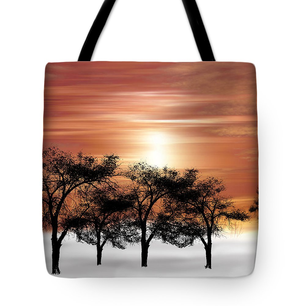 Trees Tote Bag featuring the photograph 2063 by Peter Holme III