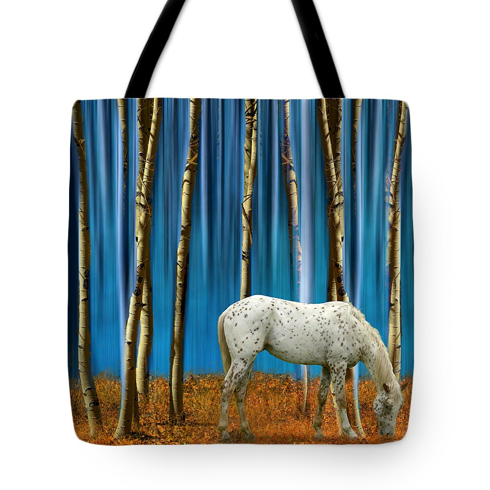 Horse Tote Bag featuring the photograph 2065 by Peter Holme III
