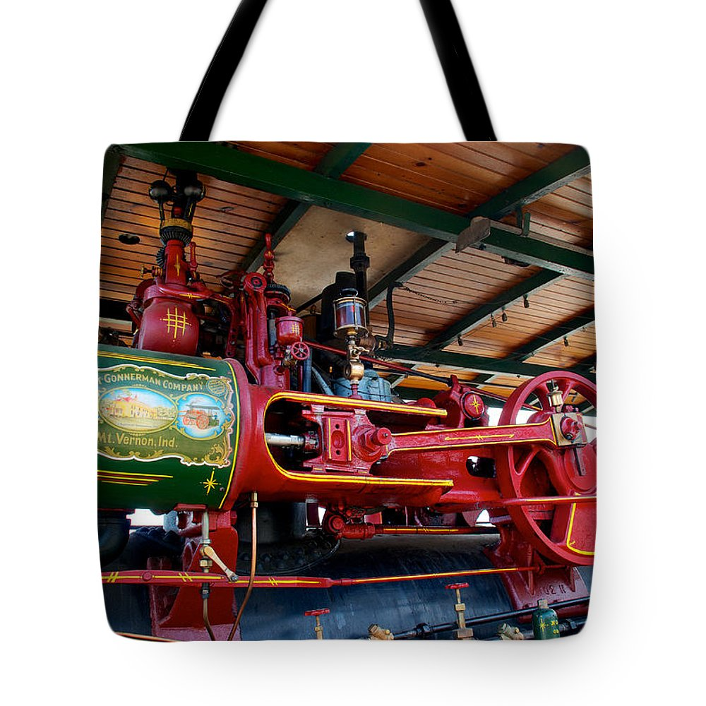 Arcadia Volunteer Fire Company Tote Bag featuring the photograph 22-65 Keck by Mark Dodd