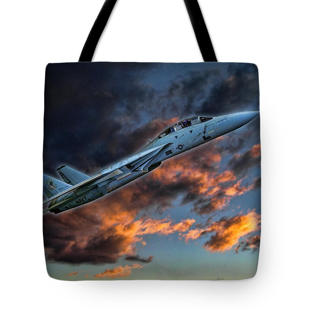 Jet Tote Bag featuring the photograph 2272 by Peter Holme III