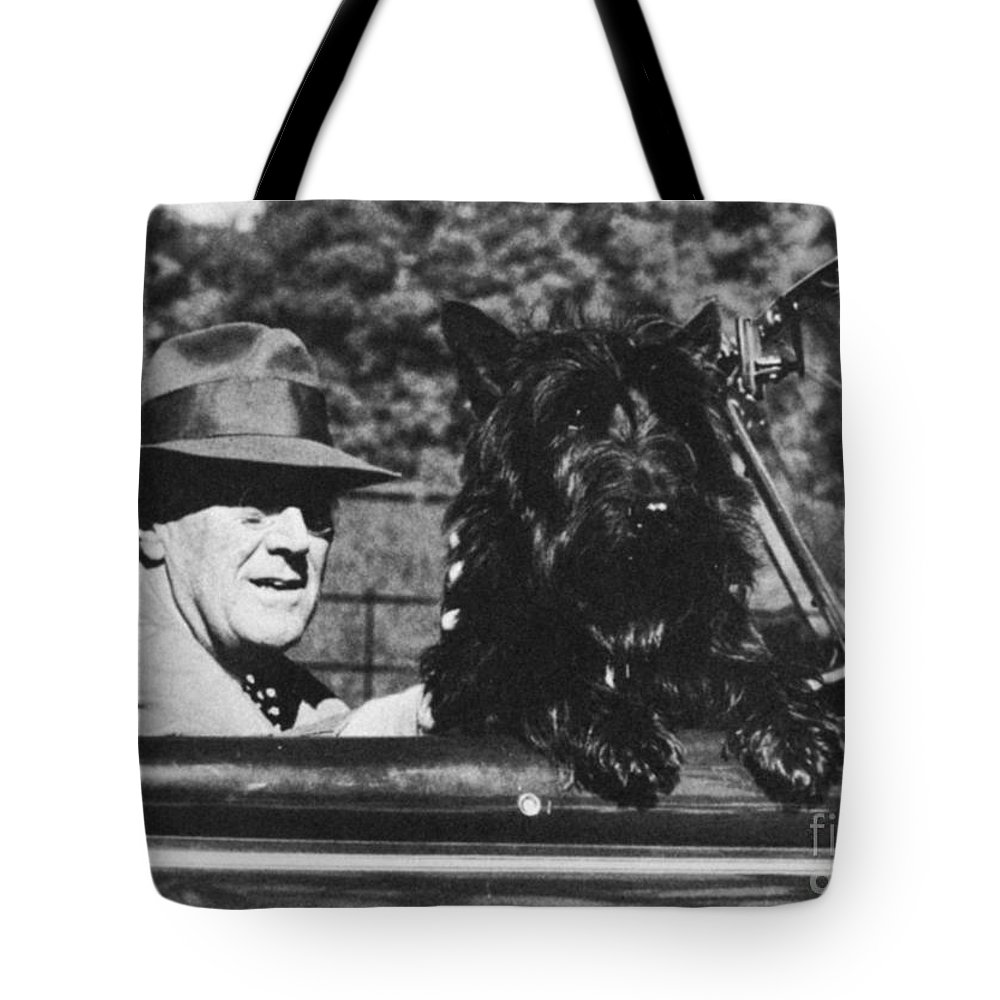 1944 Tote Bag featuring the photograph Franklin D. Roosevelt by Granger