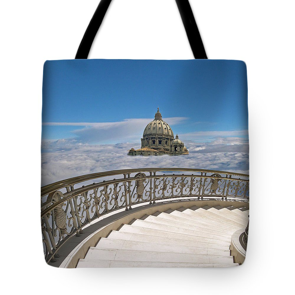 Architecture Tote Bag featuring the photograph 2407 by Peter Holme III