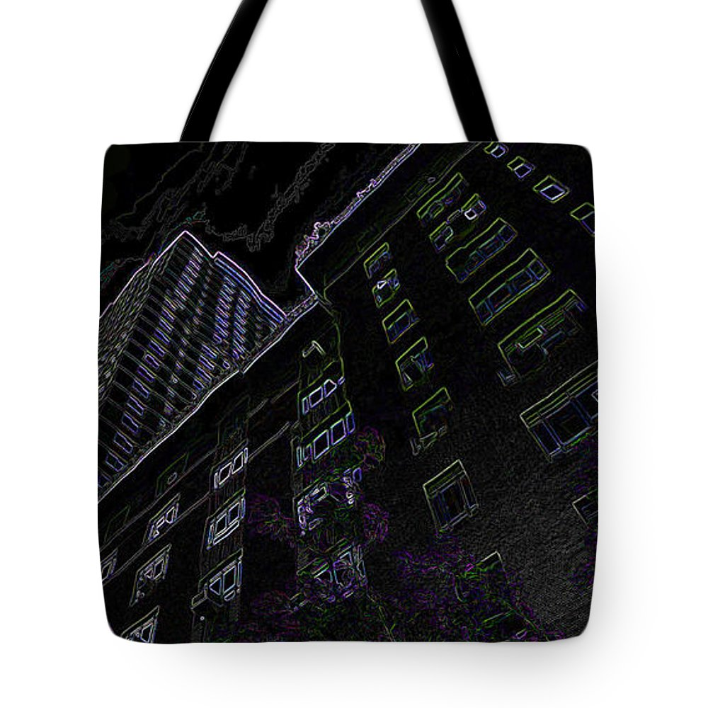 New York City Tote Bag featuring the photograph 25 Central Park West by Ericamaxine Price