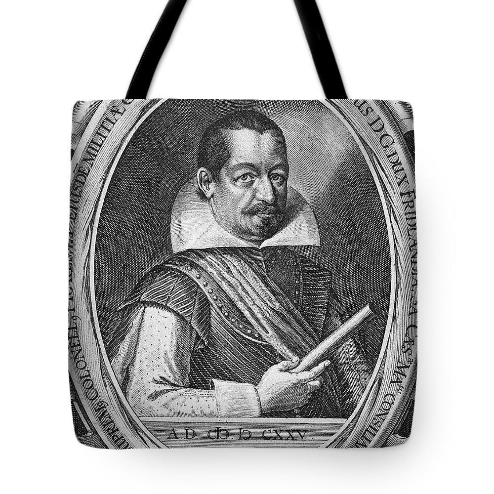 16th Century Tote Bag featuring the photograph Albrecht Von Wallenstein by Granger
