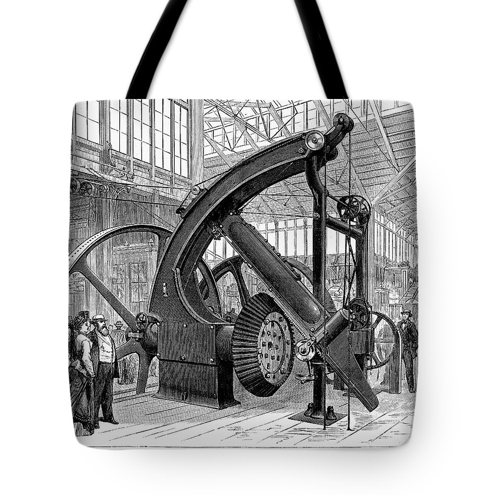 1876 Tote Bag featuring the photograph Centennial Fair, 1876 by Granger