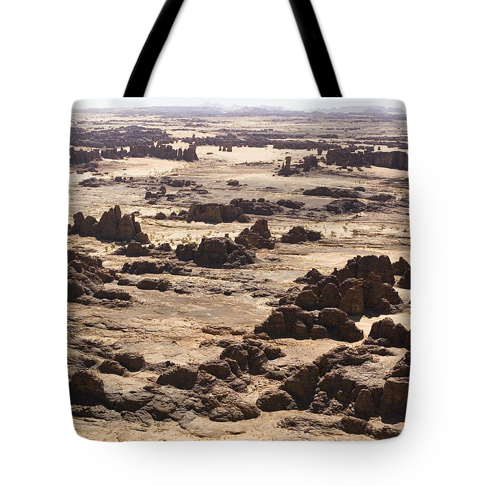 Landscape Tote Bag featuring the photograph Giant Sandstone Outcroppings Deep by Michael Fay