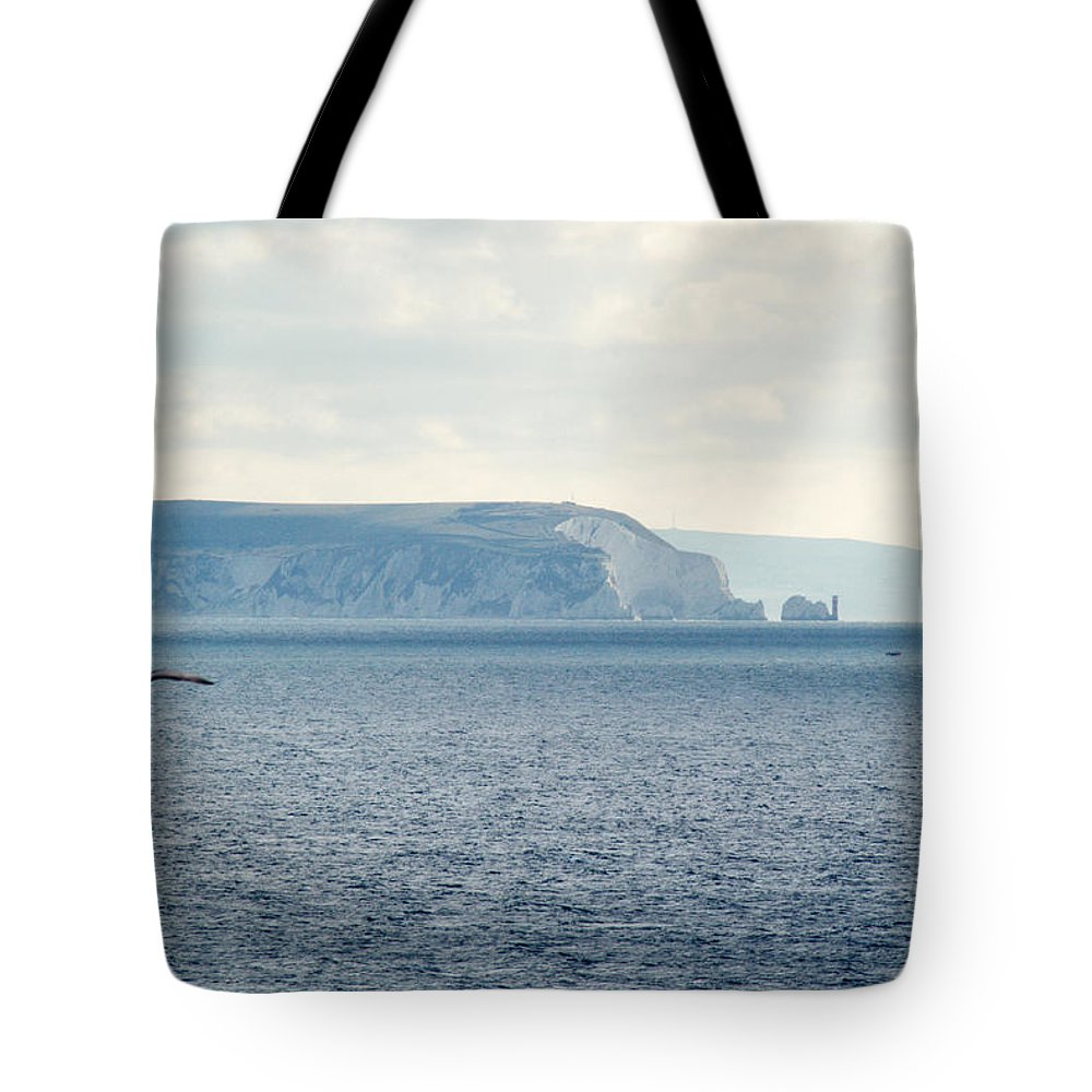 Isle Of Wight Tote Bag featuring the photograph Isle Of Wight by Chris Day