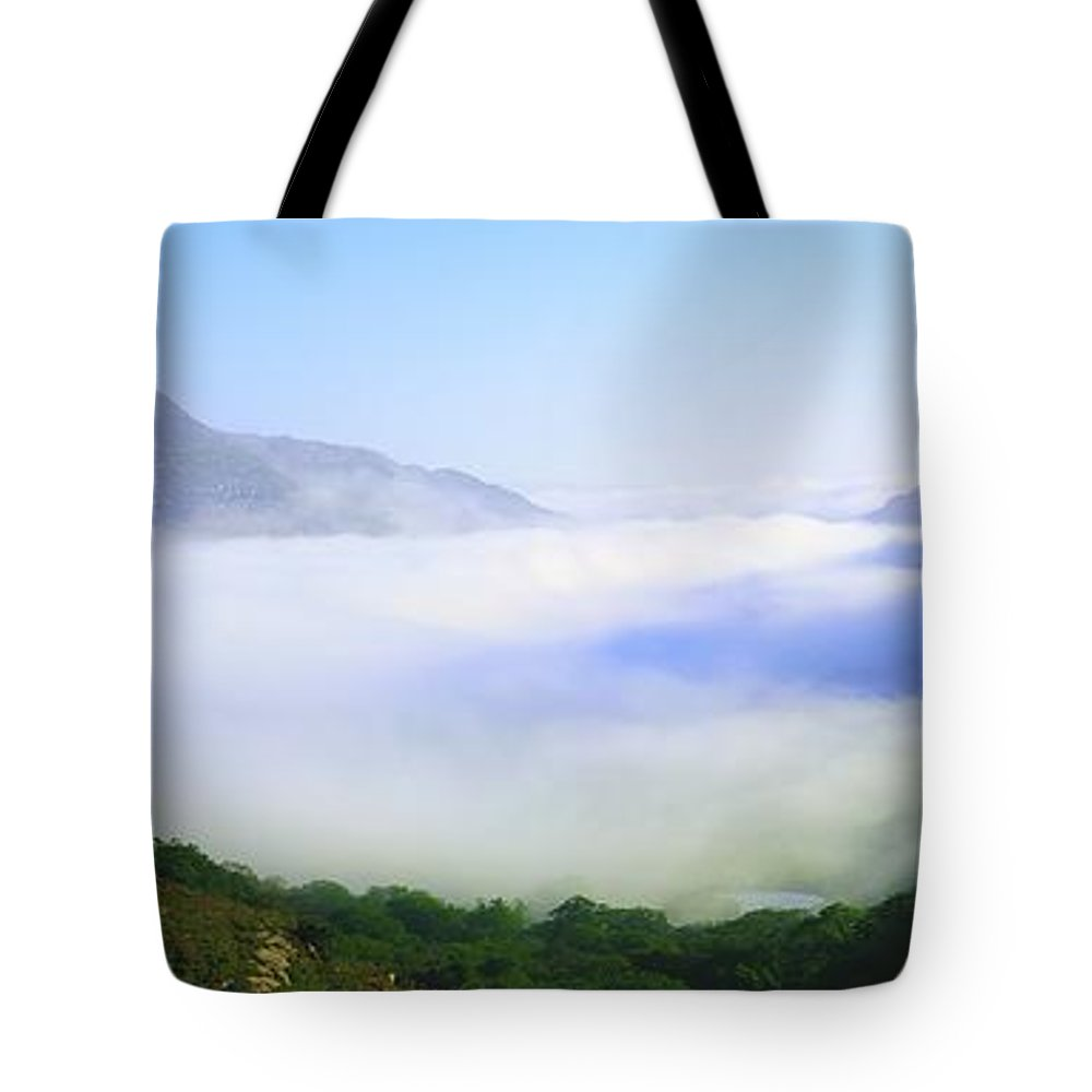 Co Kerry Tote Bag featuring the photograph Ladies View, Killarney, Co Kerry by The Irish Image Collection