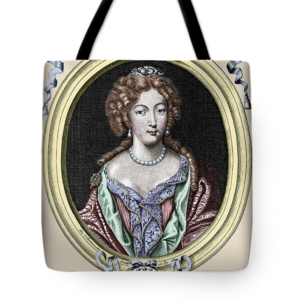 1687 Tote Bag featuring the photograph Marie-ang�lique De Rousille by Granger