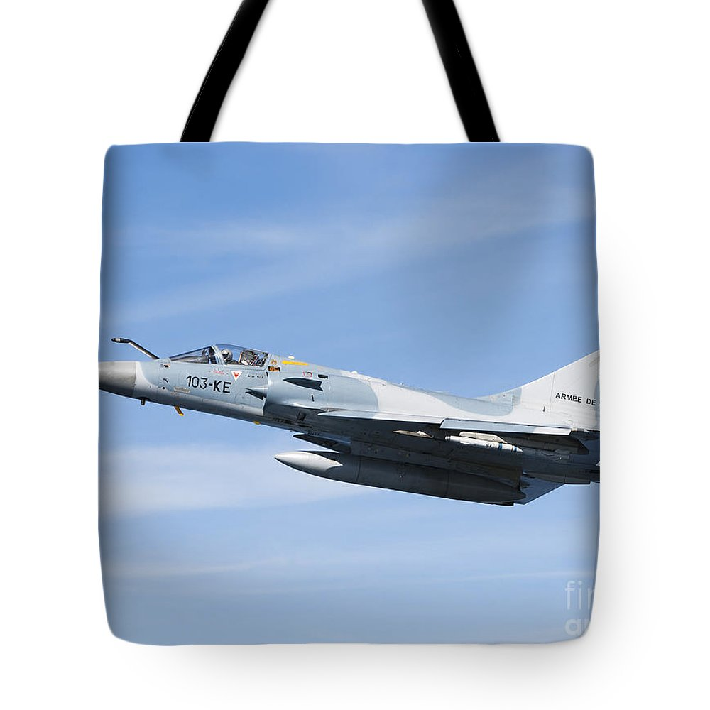 Evreux Tote Bag featuring the photograph Mirage 2000c Of The French Air Force by Gert Kromhout