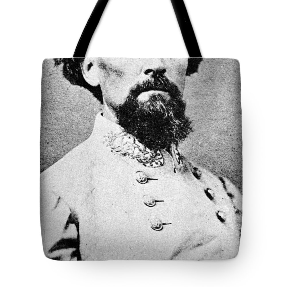 1864 Tote Bag featuring the photograph Nathan Bedford Forrest by Granger