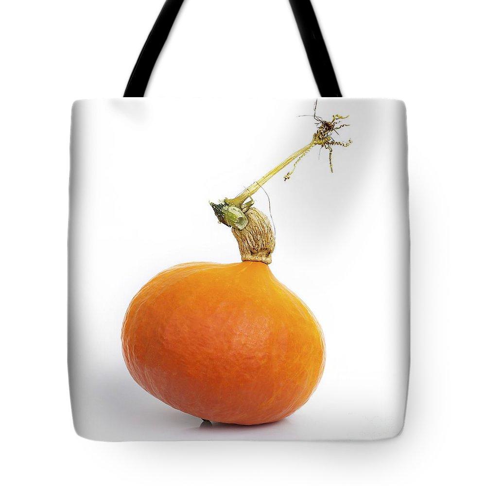 Aliment Tote Bag featuring the photograph Pumpkins by Bernard Jaubert