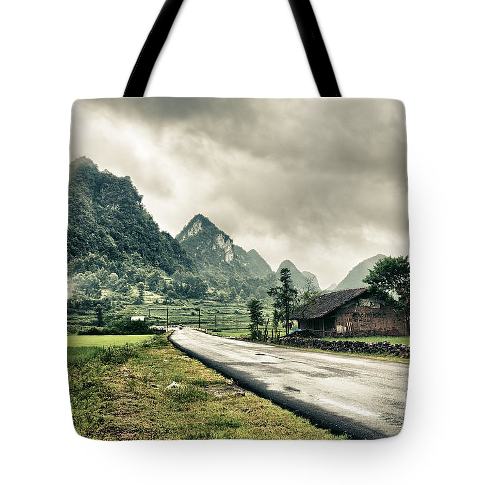 Rural Tote Bag featuring the photograph Rural Landscape by MotHaiBaPhoto Prints