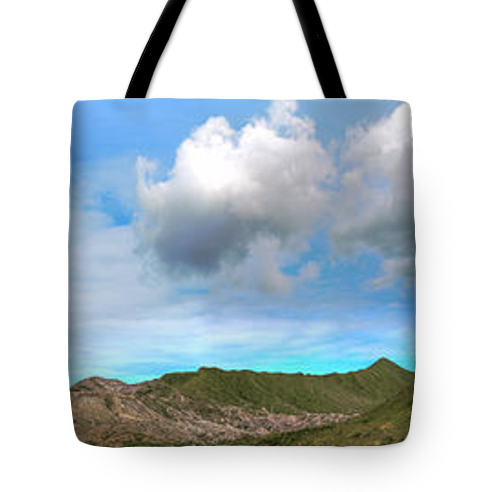 Bromo Tote Bag featuring the photograph Volcanos by MotHaiBaPhoto Prints