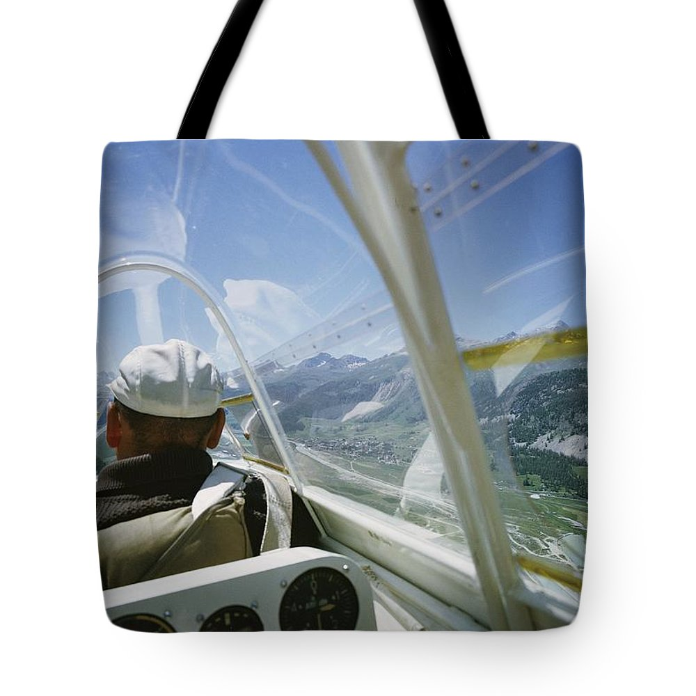 Aircraft Tote Bag featuring the photograph Untitled by Walter Meayers Edwards