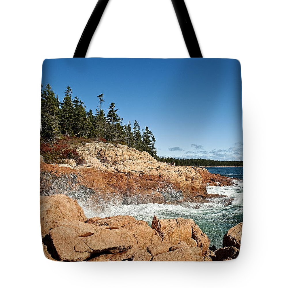 Acadia National Park Tote Bag featuring the photograph Acadia National Park by John Greim