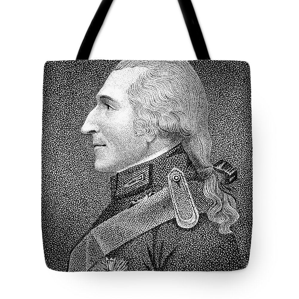 19th Century Tote Bag featuring the photograph Benjamin Thompson by Granger