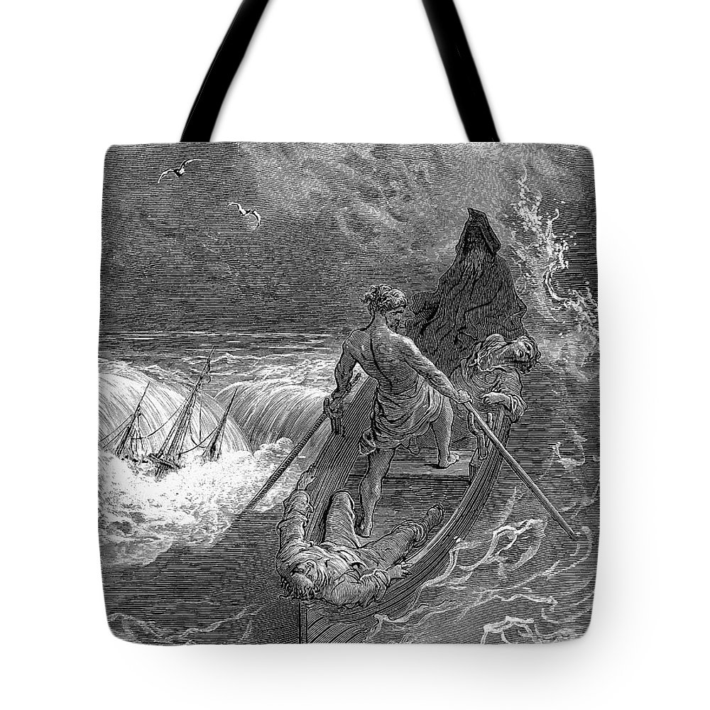 19th Century Tote Bag featuring the photograph Coleridge: Ancient Mariner by Granger