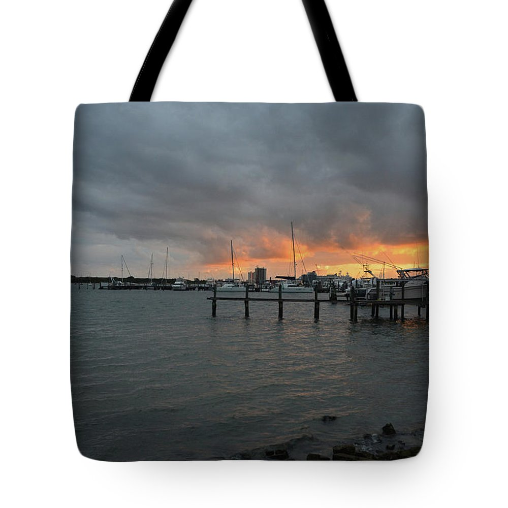 Lake Worth Tote Bag featuring the photograph 4-lake Worth by Joseph Keane
