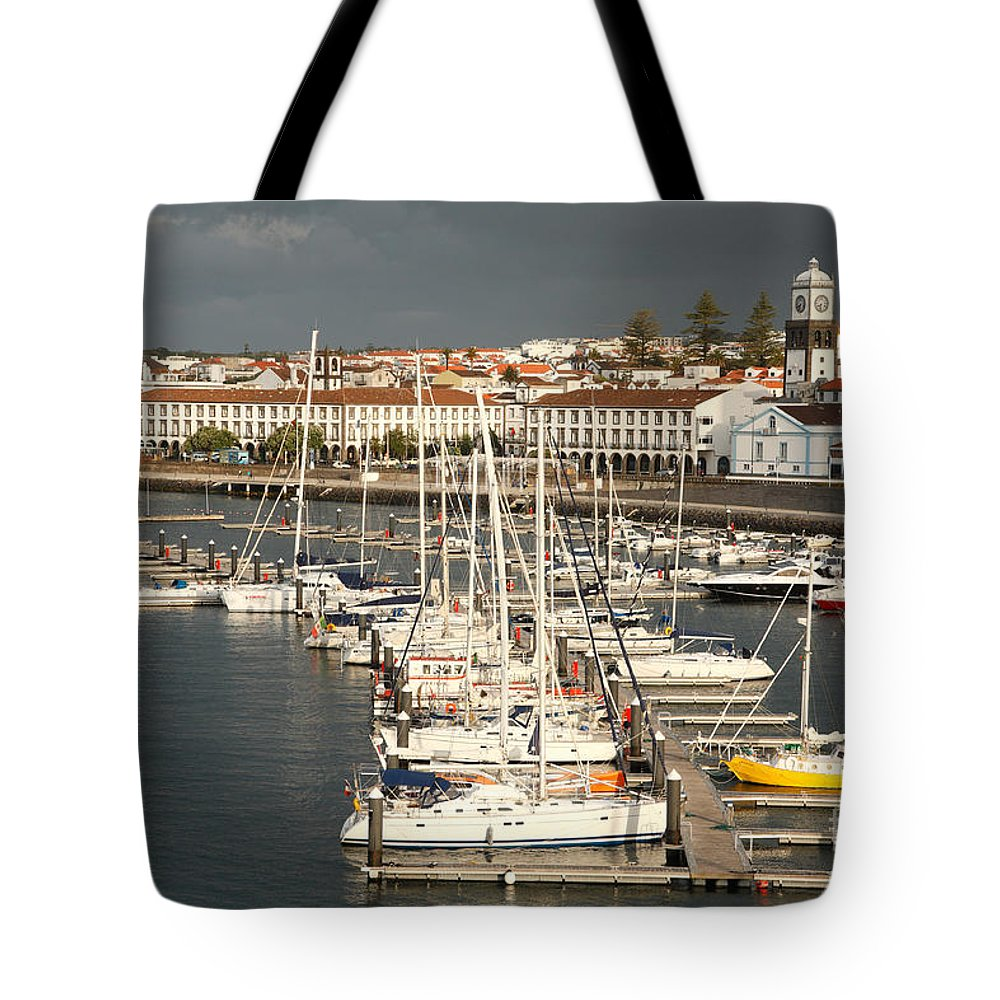 Portugal Tote Bag featuring the photograph Ponta Delgada by Gaspar Avila
