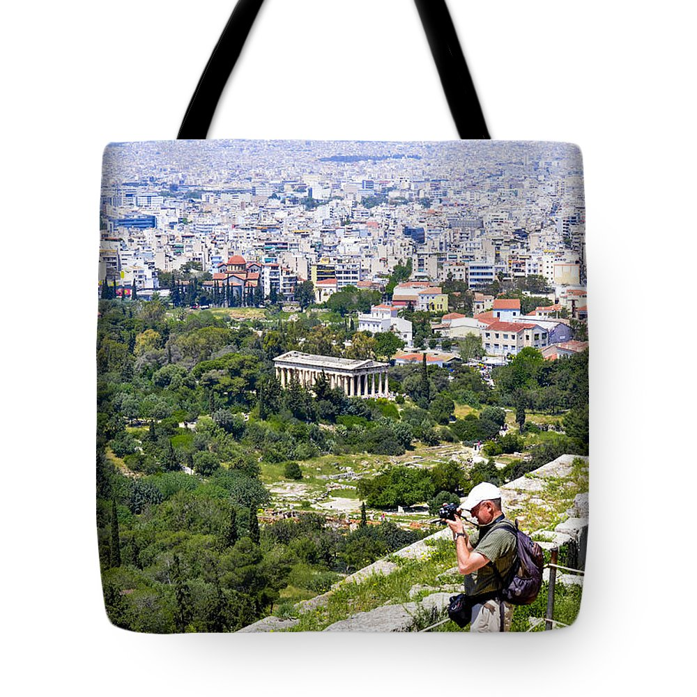 Athens Tote Bag featuring the photograph Athens Greece by Theodore Jones