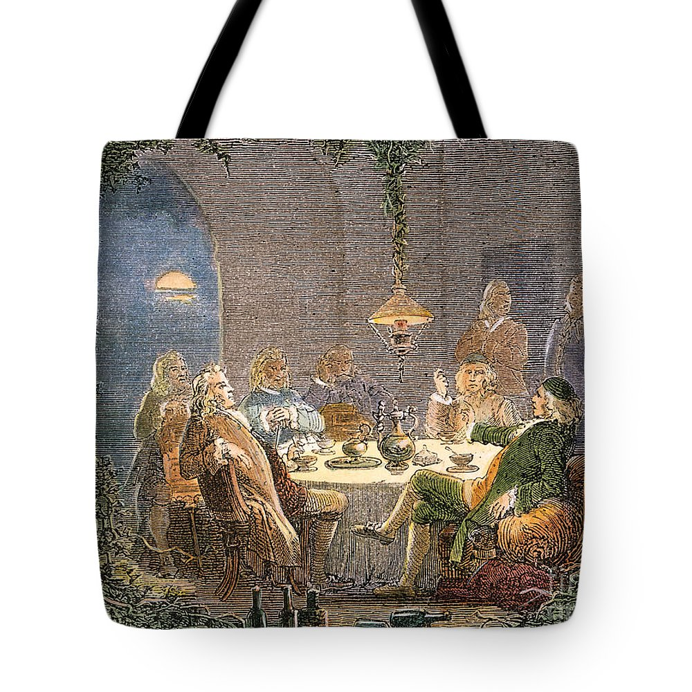 18th Century Tote Bag featuring the photograph James Watt (1736-1819) by Granger