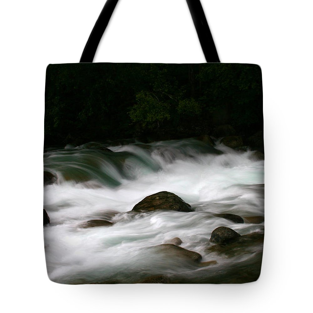 Doug Lloyd Tote Bag featuring the photograph Little Susitna River by Doug Lloyd