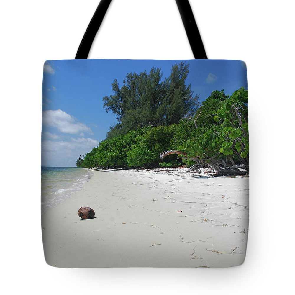 Tote Bag featuring the photograph 5- Marooned by Joseph Keane