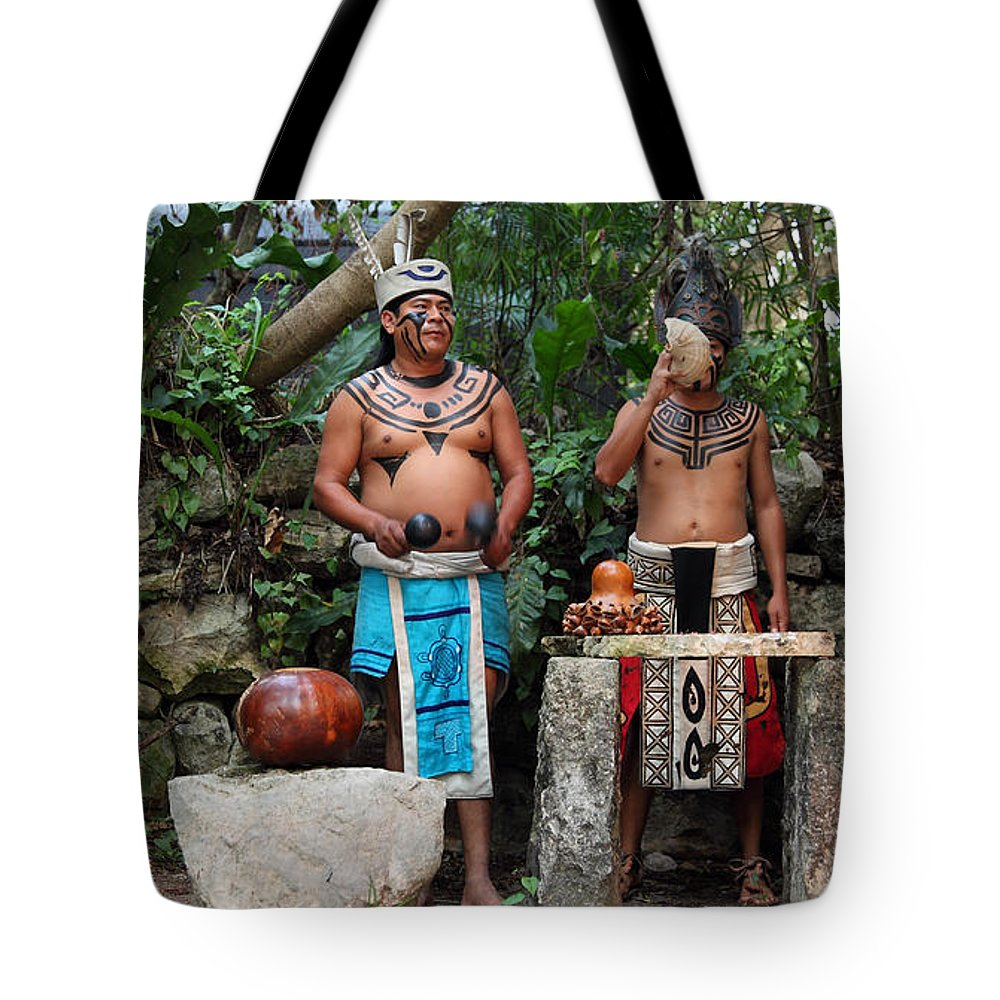 Music Tote Bag featuring the photograph Mexico by Milena Boeva