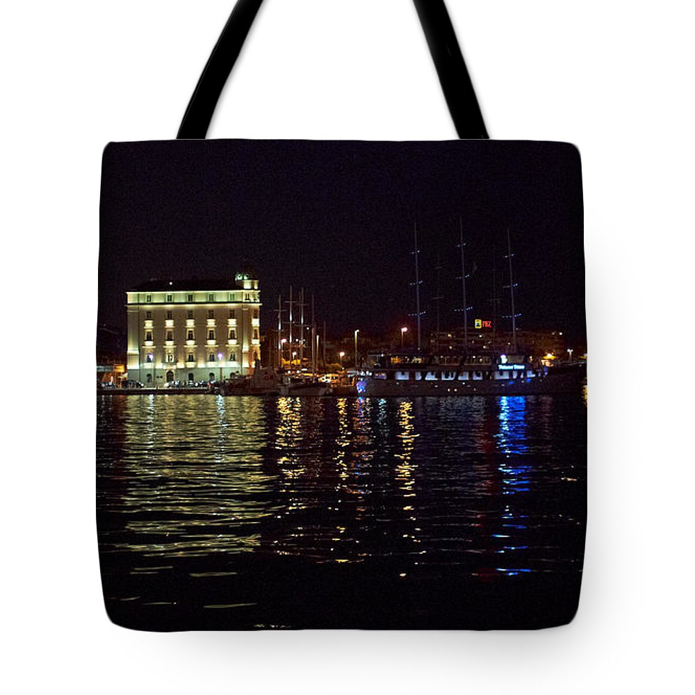 2012 Tote Bag featuring the photograph Split Old Town by Jouko Lehto