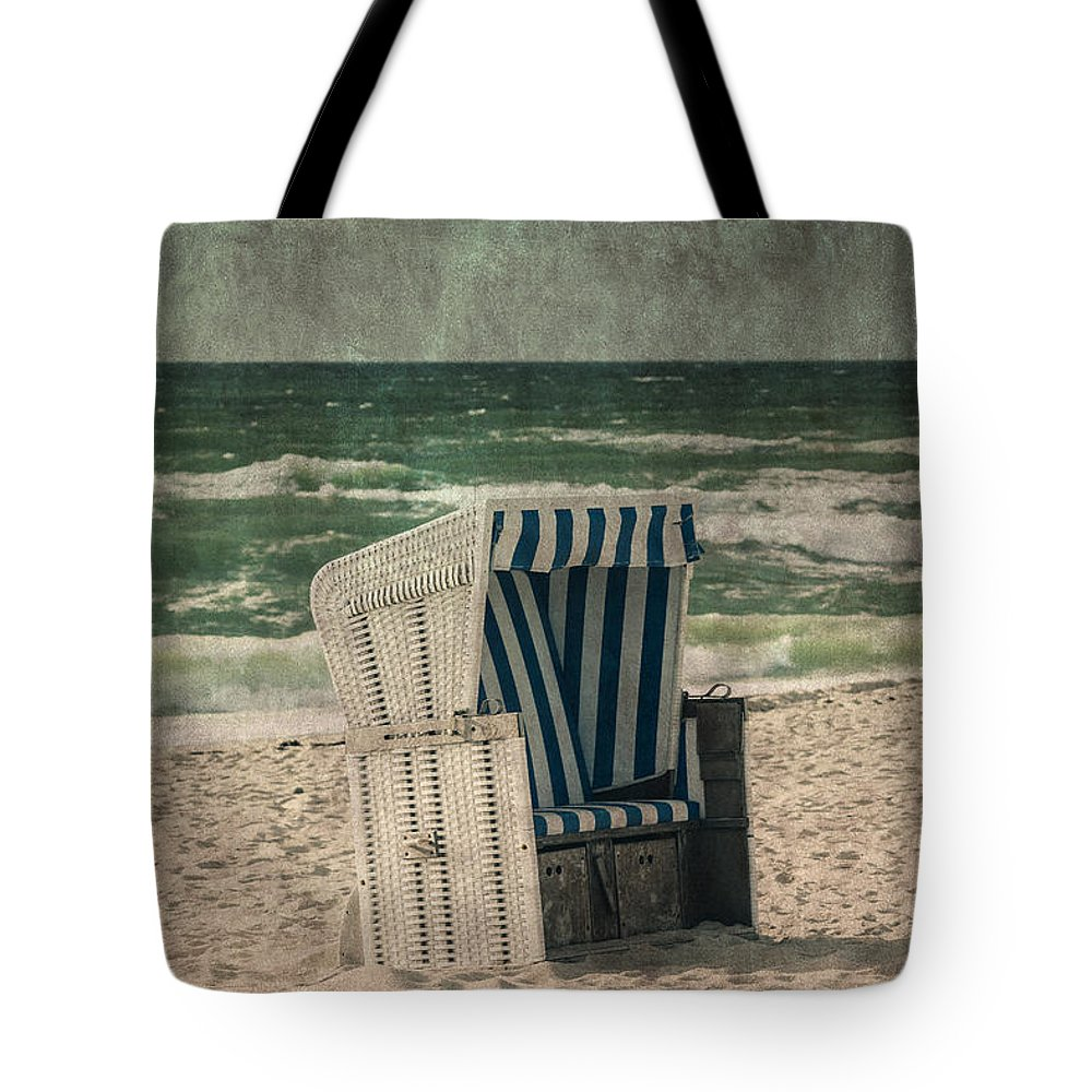 Dune Tote Bag featuring the photograph Beach Chair by Joana Kruse
