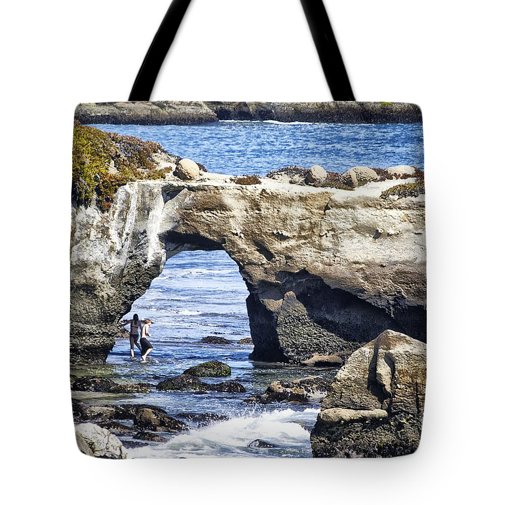 Print Tote Bag featuring the photograph 615 Det Rocky Bridge by Chris Berry