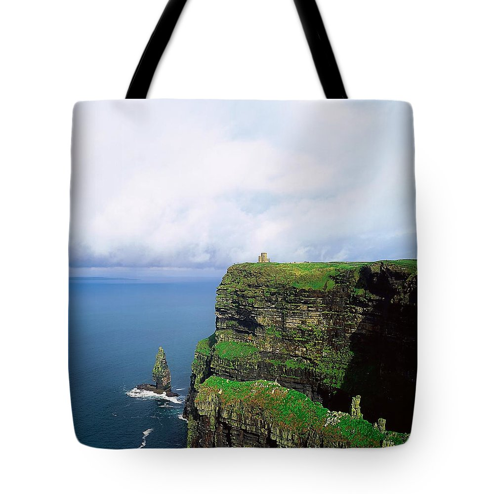 Beauty Tote Bag featuring the photograph Cliffs Of Moher, Co Clare, Ireland by The Irish Image Collection