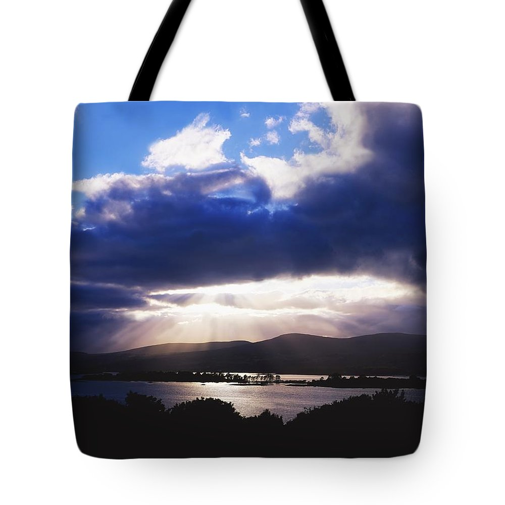Beauty In Nature Tote Bag featuring the photograph Kenmare Bay, Dunkerron Islands, Co by The Irish Image Collection