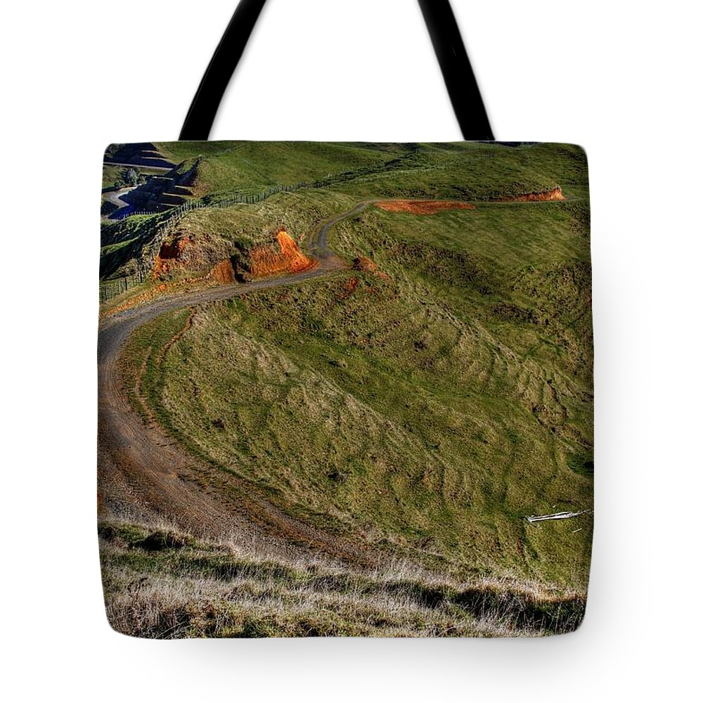 Country Tote Bag featuring the photograph Landscape by Les Cunliffe