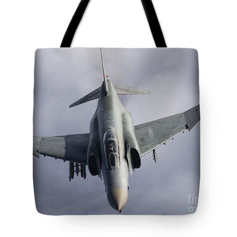 Germany Tote Bag featuring the photograph Luftwaffe F-4f Phantom II by Gert Kromhout